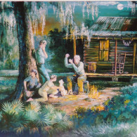 Tales by the Light of the Moon print by Robet Butler